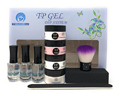 Perfect Nail French (French Manicure Dipping Powder Starter Kit. 1 oz. per jar dip powder)