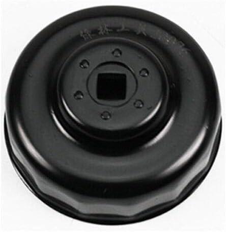 Toolstar Cl/é /à filtre /à huile Audi Hyundai Volkswagen noir cl/é /à douille pour filtre /à huile 76//93 mm x 14 fl/ûtes pour voiture Mercedes BMW