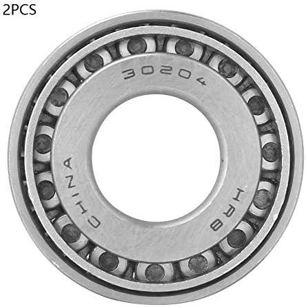 2 stücke 30204 Einreihige Kegelrollenlager Kegelrollenlagersatz 20mm Bohrung 47mm AD 15,25mm Dicke für Automobilwalzwerk