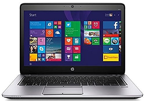 "HP EliteBook 840 G1 14"" HD+ TouchScreen Business Laptop Computer, Intel Dual Core i7 2.1GHz Processor, 8GB RAM, 240GB SSD, USB 3.0, VGA, Wifi, RJ45, Windows 10 Professional (Certified Refurbished)"