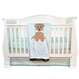 Amazon Com One Grace Place Puppy Pal Boy Infant Crib