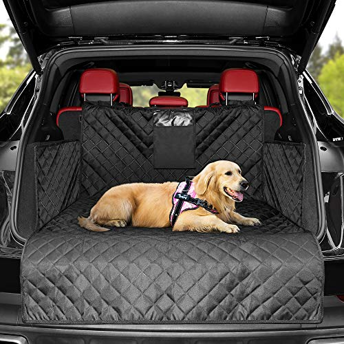 KYG Telo Auto per Cani Impermeabile Copertura Universale per Bagagliaio Coprisedile Auto per Cani Bagagliaio Auto