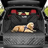 KYG Dog Cargo Liner Waterproof Pet Trunk Cover Car Trunk Protector Non-Slip Cargo Protector Dog Seat Cover for Universal Cars and SUV