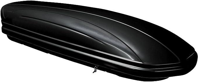 Dachtr/äger Menabo Tema kompatibel mit Opel Corsa D Dachbox VDPBA320 320 Ltr Carbonlook abschlie/ßbar Schr/ägheck 5 T/ürer 2006-2014 Aluminium