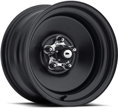 U.S. Wheel 68-5834 Matte Black Rat Rod Wheel (Series 68) Size: 15