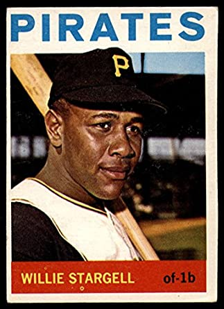 1964 Topps #342 Willie Stargell Pittsburgh Pirates Baseball Card Verzamelkaarten: sport