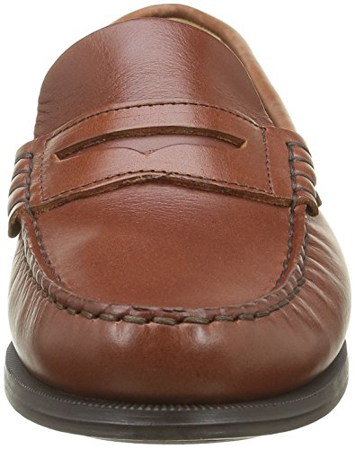 Sebago Plaza II, Mocassini Donna Marrone (Brown Oiled Waxy Lea)