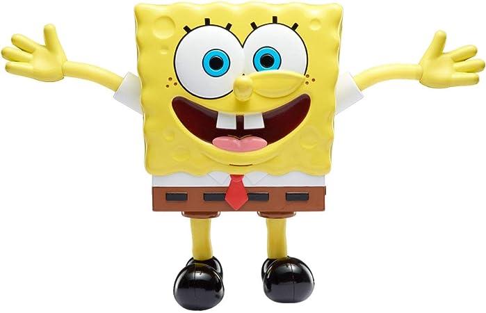 SpongeBob SquarePants   Estiradores   Estiramiento Bob Esponja con Sonidos   Juguete Interactivo de 7 Pulgadas