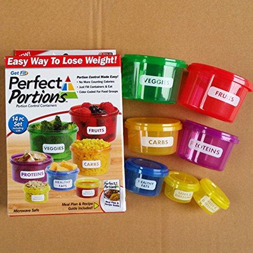 EDTara Portable Lunch Boxes Mini Fresh-keeping Bowls DIY Boxes Outdoor Travel Cases 7pcs/set