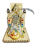 12 Inch Money Statue La Santa Santisima Muerte Holy Death Grim Reaper Figurine