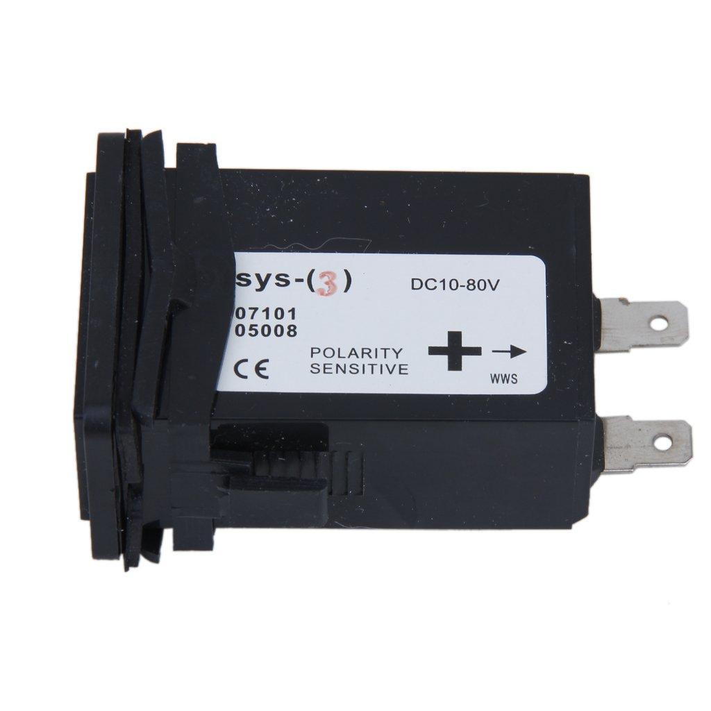 10v-80v Contaore Dc Sigillato Contro Indicatore Per La Barca Motore Del Camion Auto