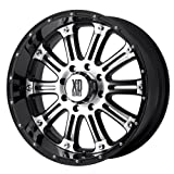 XD Series by KMC Wheels XD795 Hoss Gloss Black Wheel With Machined Face (20x9