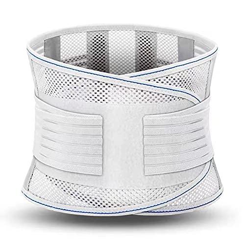 ShuwenLumbar Ondersteuning riem, decompressie riem, ademend lumbale ondersteuning, gebruikt voor het opheffen, lage…