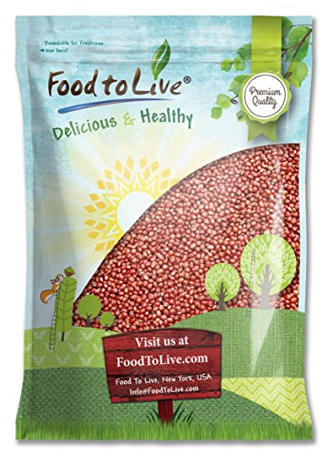 Adzuki Sprouting Seed (Food to Live Adzuki Bean Sprouting Seeds (10 Pounds) - to Grow Sprouts or for Cooking)