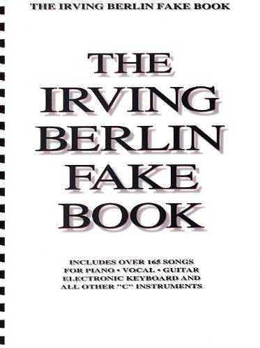 Irving Berlin Fake Book - C Edition. Partituras para Piano, Voz y ...