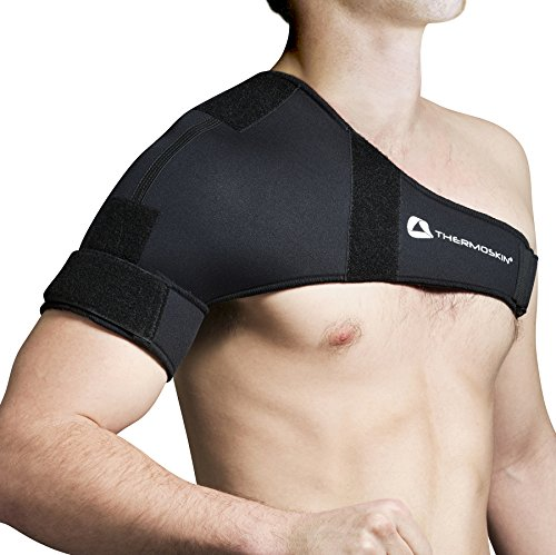 Thermoskin Adjustable Sports Shoulder, Black, 7.3 Ounce