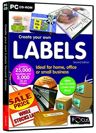 create your own labels second edition pc create your own labels