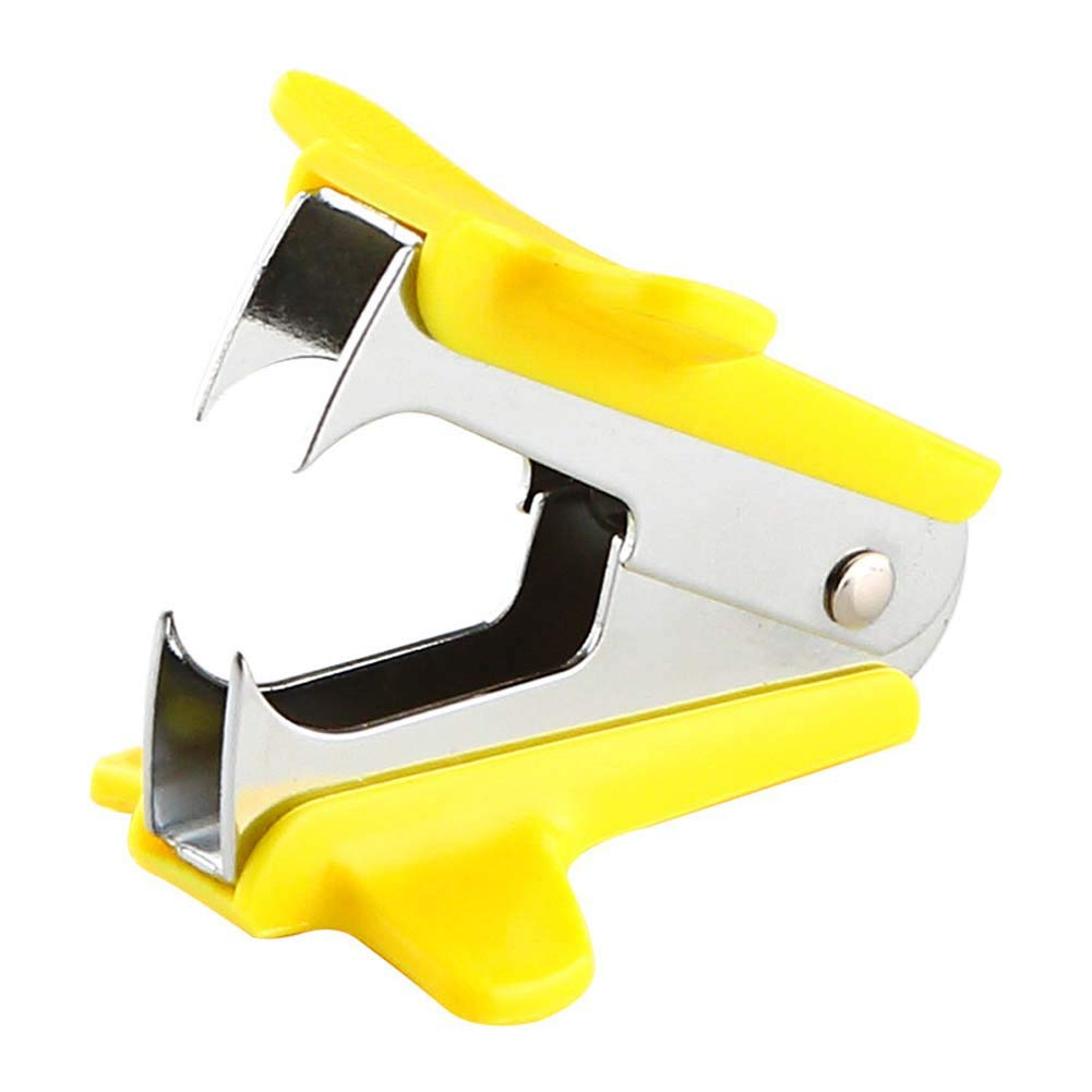 JUNDA Staple Removers Tools,Staple Remover for 24/6, 26/6,Office School Home Supplies,Pack of 5(Yellow) by JUNDA (Image #1)
