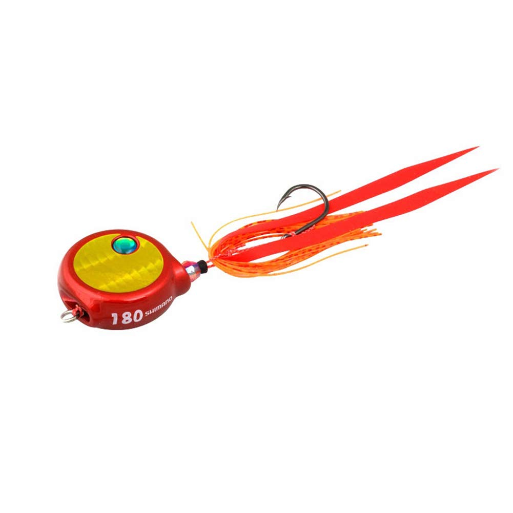 efe5eb7a5a3 Amazon.com : SHIMANO Lucanus Flat Fishing Jig Lure Bait : Sports & Outdoors