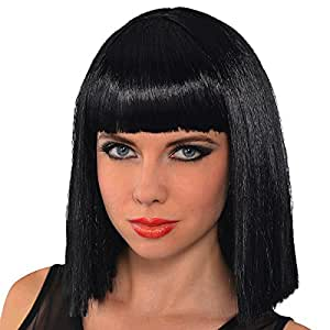 Amscan Blunt Bob Wig Costume and Accessories