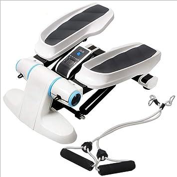 Pedal de fitness Escalera, mini acondicionador de subir escaleras, Máquinas de ejercicios con banda de resistencia y pantalla LCD, apropiados para uso en Deportes en funciones, Gimnasio en casa: Amazon.es: Deportes y