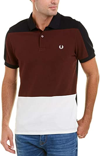 Fred Perry Hombre M4530 Manga corta Camisa polo - Azul - X-Large: Amazon.es: Ropa y accesorios