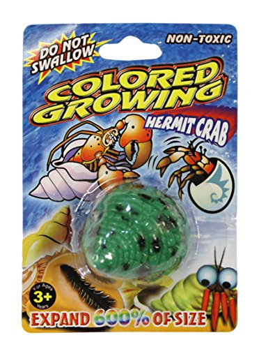 Grow a Crab Just Add Water Hermit Crab (Green)