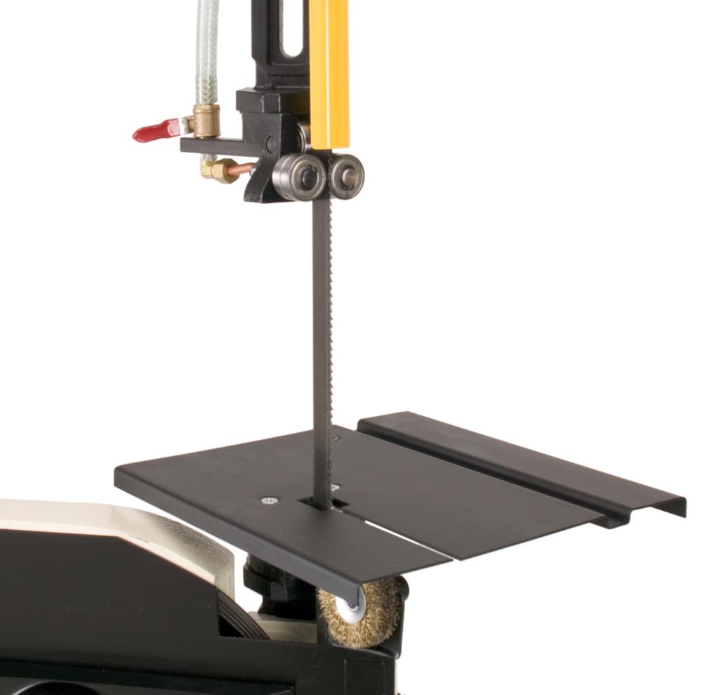 Shop fox m1014 7 inch by 12 inch metal bandsaw power for 12 inch table saw