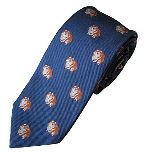 (Pomeranian Tie (Men's Dog Breed Neck Tie))