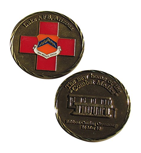 Group Challenge Coin - Luke Air Force Base Arizona, 56th Medical Group Challenge Coin