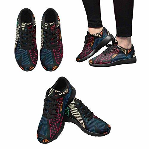 InterestPrint Womens Jogging Running Sneaker Lightweight Go Easy Walking Comfort Sports Running Shoes Multi 4 8hFZtDUl