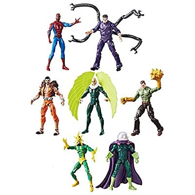 Marvel Legends Series Spider-Man vs. The Sinister Six, 3.75-inch: Toys & Games