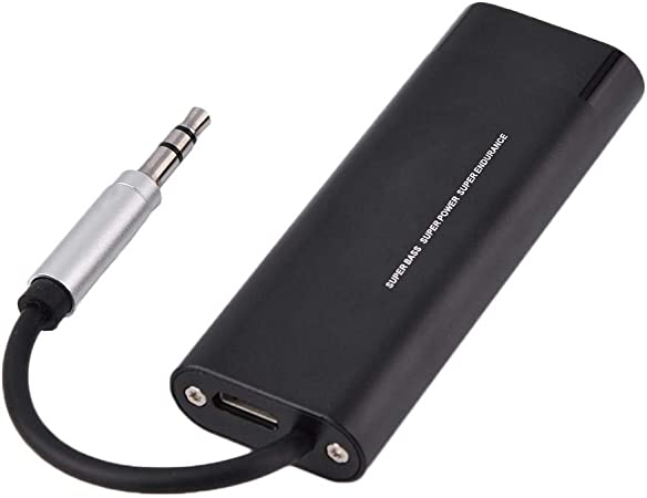 HiFi Earphone Headphone Amplifier Workingtime Approx 30 Hours 3.5mm AUX Amplifier Digital Audio Player for Smartphone with Noise Reduction Function Tosuny Headphone Amplifier
