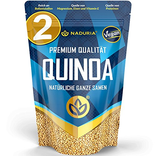 Naduria Premium Quinoa Samen - 2er Pack - 1000g - 1,0kg
