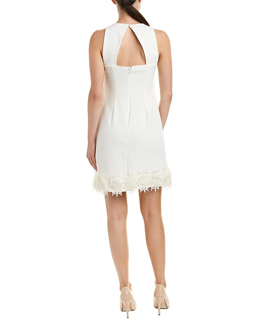 3abe27986cd Julia Jordan Women Floral Embroidered Hem Shift Dress Whites at Amazon Women's  Clothing store: