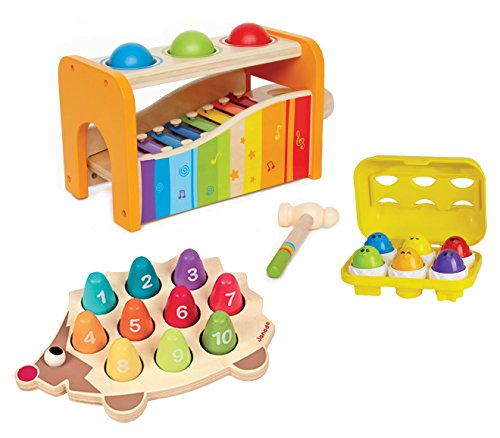 Cognitive Development Bundle of 3 Toys for 12-24 Months by
