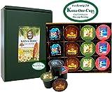Single-Serve Kona-One-Cups for Keurig Model 2.0 K-cup Brewing Systems, Variety Pack of 100% Kona & Kona Hawaiian Coffee, 12-Count Box