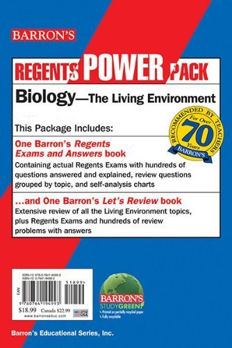 Biology Power Pack by Hunter, Gregory Scott (November 1, 2014) Paperback