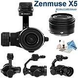 DJI Zenmuse X5 Camera and 3-Axis Gimbal with 15mm f/1.7 Lens + eDigitalUSA Kit