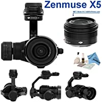 DJI Zenmuse X5 Camera and 3-Axis Gimbal with 15mm f/1.7 Lens + eDigitalUSA Kit