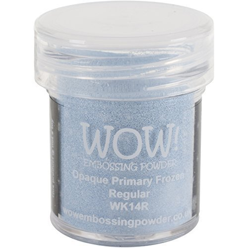 Wow! Embossing Powder 15ml - Opaque Primary - Frozen by WOW