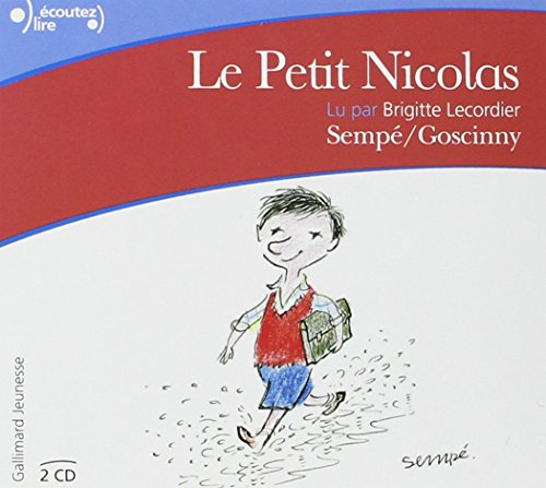 Le Petit Nicolas audio CD (French Edition) by Gallimard, Fr.