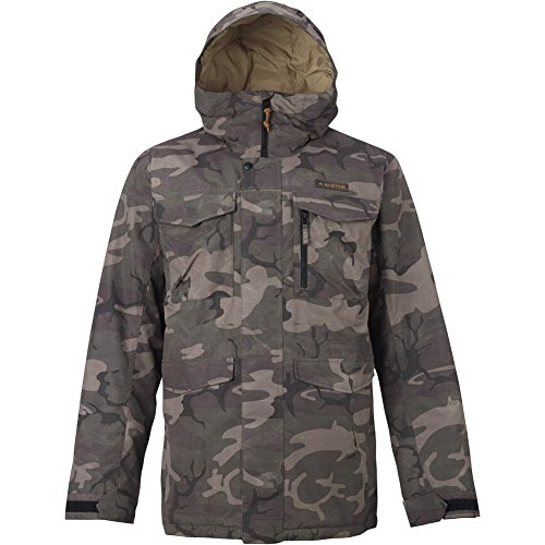 Burton Men's Covert Jacket, Keef Underpass Twill, Large