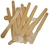 Woodman Crafts Fan Handles - 9'' Inch Jumbo Premium Grade Wooden Sticks Handles MADE IN USA - Use For Wedding Fan Sticks, Auction Bidding Paddles and Craft Projects (Box of 10000)