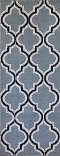 s Style Area Rug by Home Dynamix | Premium Collection Alanya Rug | Best Value for Money | Gray Indoor Stylish Decorative Rug | Modern, Chic, Trendy Design 1'9