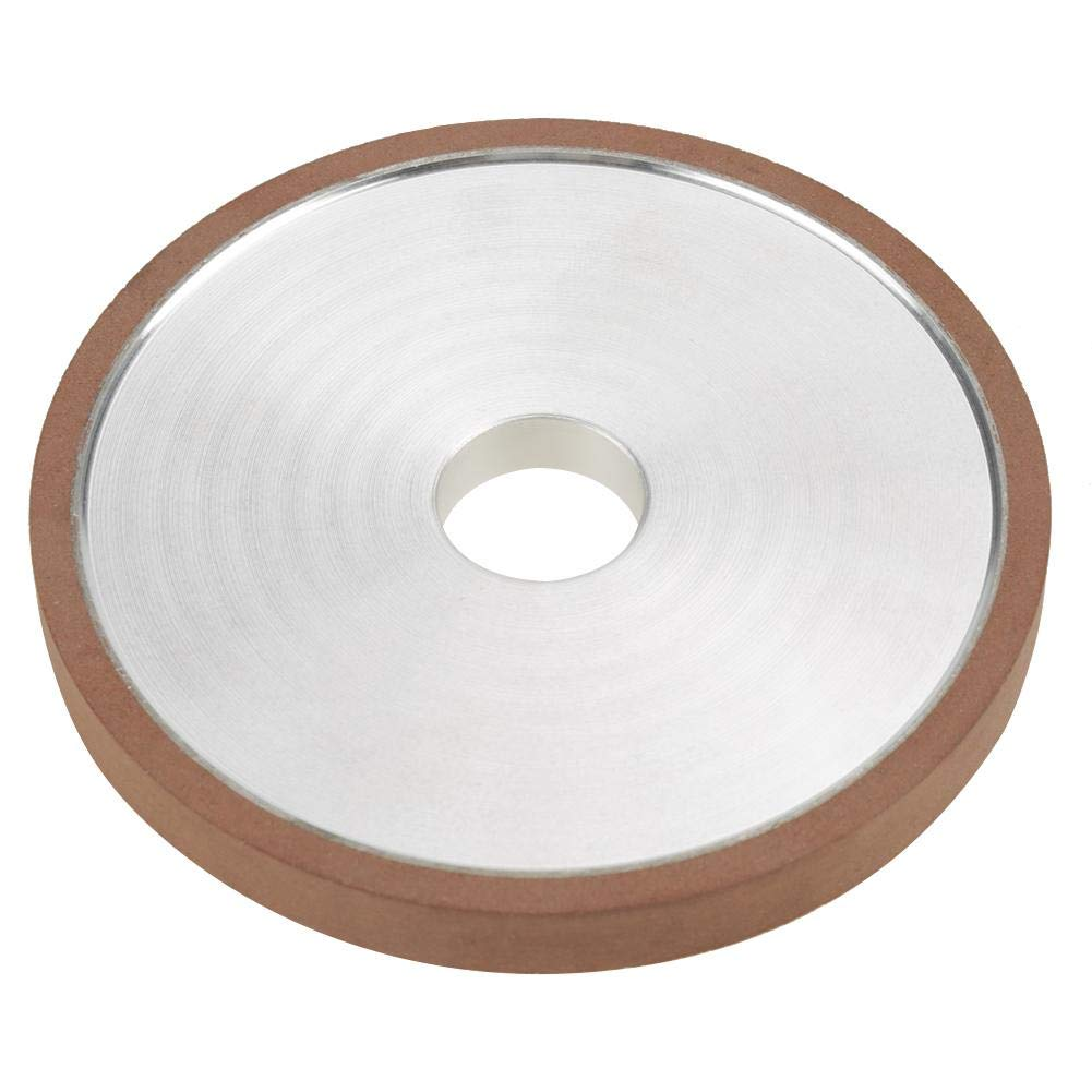 disco da 1 pezzo 100 20 10mm Mola diamantata in resina per fresa smerigliatrice Lucidatura grana 150 rettificatrice Mola Mola diamantata