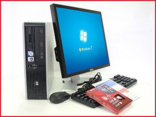 今年も話題の 高速パソコンデスクトップ&19型液晶搭載 Windows7-Professional32済 Form ヒューレットパッカード【中古デスクトップパソコン B00MGCMZOO】HP Compaq dc5800 Small Factor Form Factor 高性能Core2Duo-3.0GHz メモリ4GB HDD1TB DVDマルチ装着 新品無線LANアダブタ付 B00MGCMZOO, リビングート:6d81be2d --- arbimovel.dominiotemporario.com