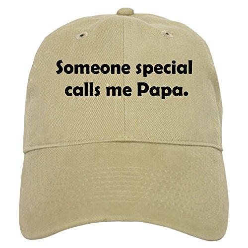 CafePress - Someone special calls me papa Cap - Baseball Cap with Adjustable Closure, Unique Printed Baseball Hat (Calls Special Someone)