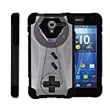 TurtleArmor | Kyocera Hydro View Case | Hydro Reach Case | Hydro Shore Case [Dynamic Shell] Hybrid Dual Layer Hard Shell Kickstand Silicone Case – Classic Game Controller