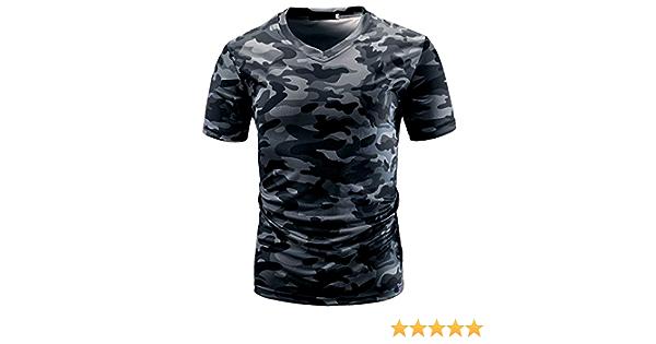 RETUROM -Camisetas Camiseta para Hombre, Manga Corta con ...